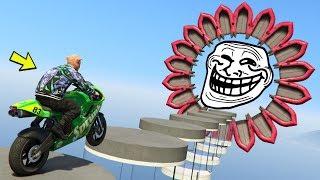 GTA 5 ONLINE 🐷 MEGA TROLL MOTO 3 !!! 🐷 GARE TROLL 🐷N*81🐷 GTA V ONLINE 🐷 DAJE !!!
