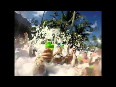 MAJESTIC PUNTA CANA VACATION VIDEO. FOAM PARTY, SPORTS, AND DANCE CLUBS