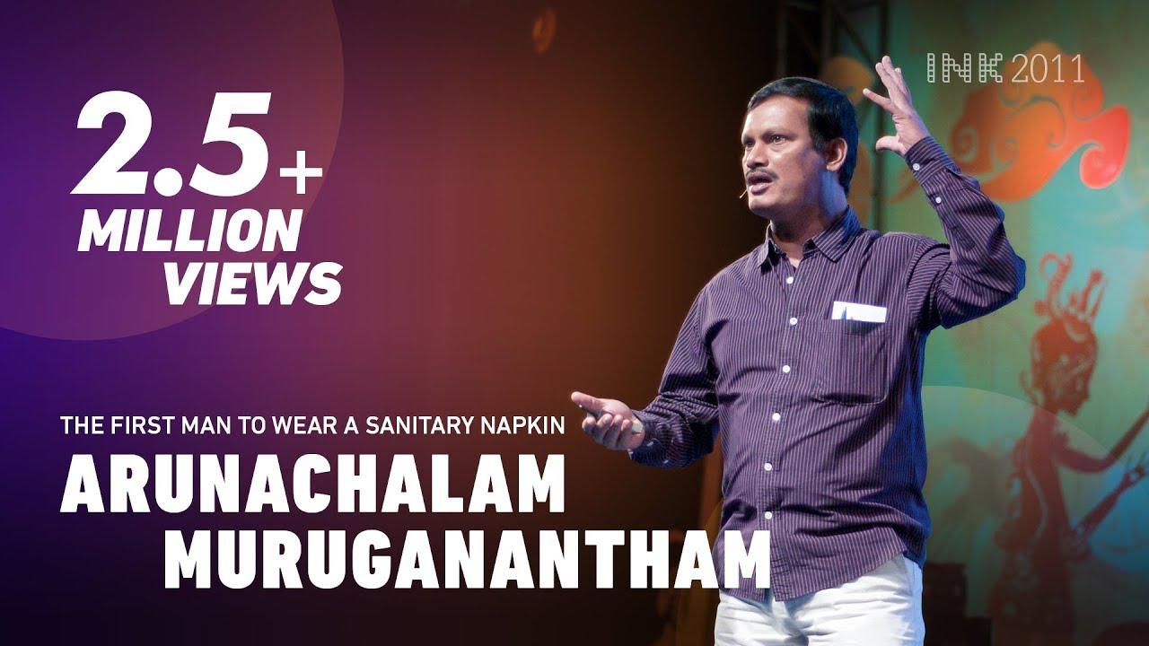 Download Arunachalam Muruganantham: The first man to wear a sanitary napkin