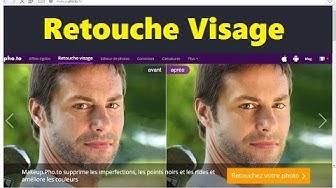 Retouche de visage en ligne (Retouche photo en ligne gratuit)
