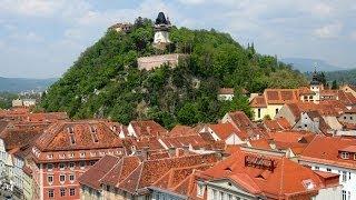 Замок Шлоссберг - Грац, Австрия.Grazer Schloßberg(Замок Шлоссберг (нем. Schloßberg) — замок в Австрии, в городе Грац. В переводе Шлоссберг означает «замковая гора»..., 2014-05-07T09:57:12.000Z)