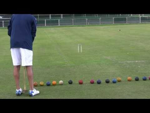 golf croquet practice