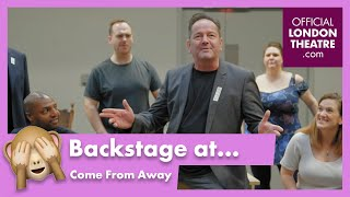 Come From Away 2020 cast in rehearsal