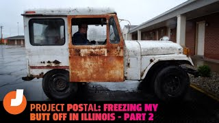 homepage tile video photo for Taking A $500 Postal Jeep 400 Miles Through Snow And Ice Is Foolish(Episode 2)