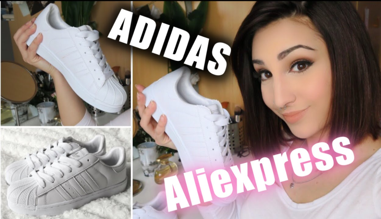 aliexpress superstar blancas