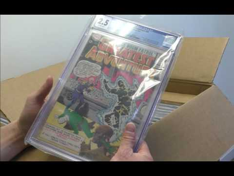 Sell My Comic Books Unboxing CGC Invoice Part 1 of 5
