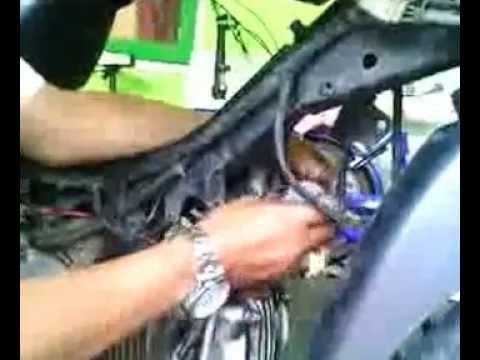ubah motor pakai bahan bakar gas/lpg