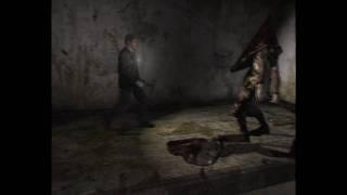 Silent hill 2 - Pyramid head Boss fight (HARD)