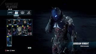 BATMAN™  ARKHAM KNIGHT all skin from season pass -DragongamerZ7