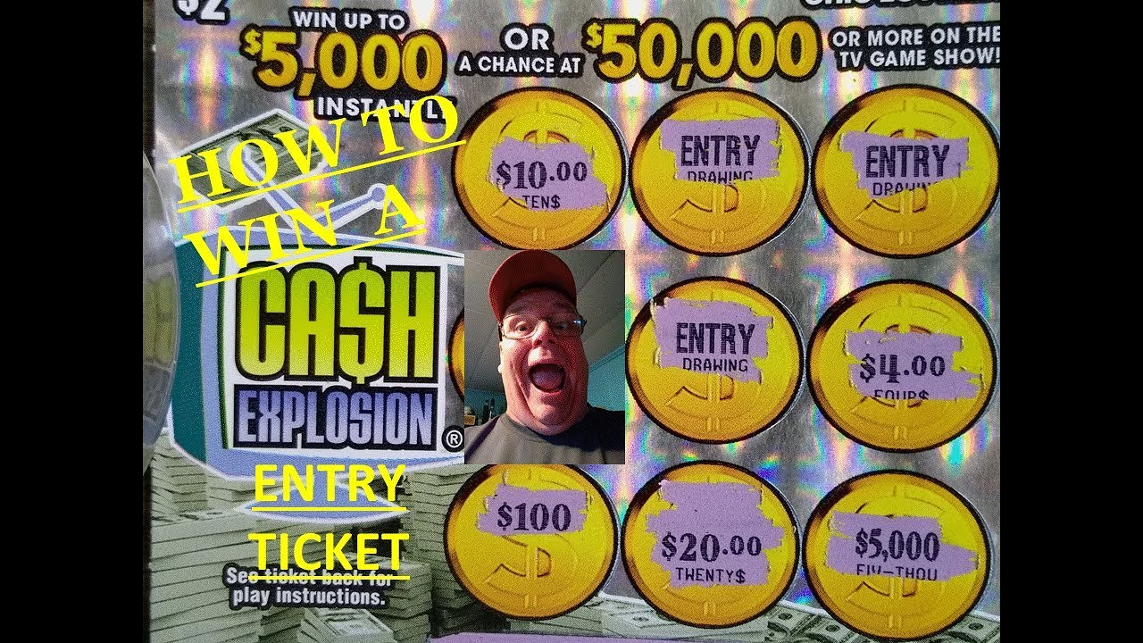 How to Win a Cash Explosion Entry Ticket!!! Ohio lottery