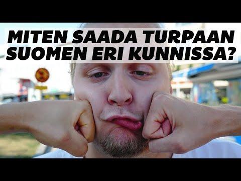 Korroosio - Miten saada turpaan Suomen eri kunnissa?