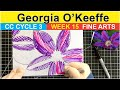 CC Cycle 3 Week 15 Fine Art Georgia O'Keeffe - Classical Conversations Art