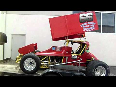 Sign A Rama Olympia Sprint Car Graphics Youtube