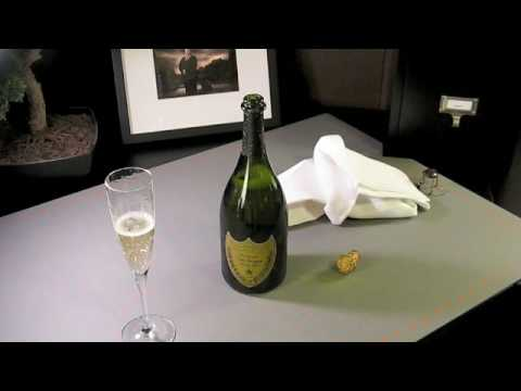 Opening a bottle of Dom Perignon Vintage 2000