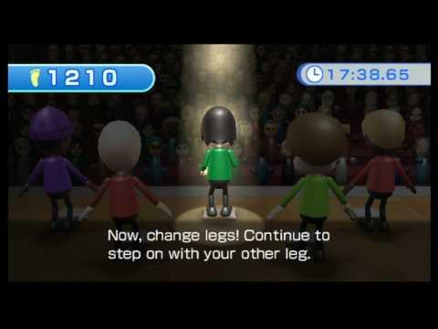 Wii Fit - Aerobics - Free Step (Duration 30 min.)