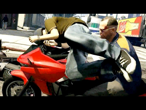 GTA V Funny/Kills/Crashes Moments 16