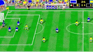 AMIGA Italy Soccer '90 ITALY '90 SOCCER OTHER GAME OCS 1990 Simulmondocr QTXa adf