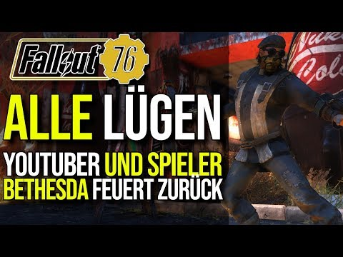 Die Lügen der YouTuber und Community | Bethesda feuert zurück | Fallout 76 thumbnail