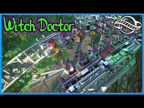 Witch Doctor! Coaster Spotlight 570 #PlanetCoaster