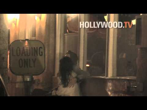 Vanessa Hudgens and Austin Butler PDA at Mozza Italian Restaurant