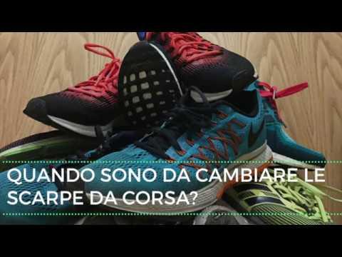 Quando cambiare le scarpe da corsa  Ecco come capirlo. - YouTube 04280c75ca7