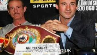 Enzo Calzaghe BBC Coach of the year