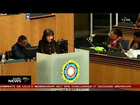 Prof Tinyiko Maluleke on Patricia De lille's resignation