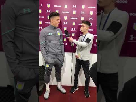 Aston Villa 1-0 Leeds United   Jack Grealish post match interview