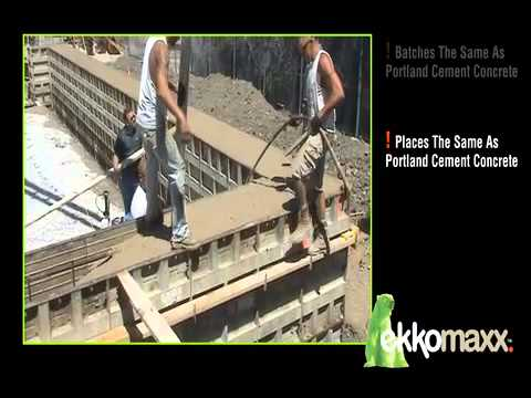 ekkomaxx Carbon Neutral Cement Concrete