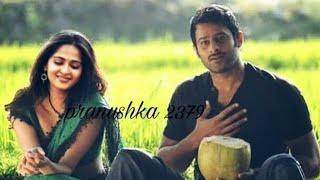 Prabhas & Anushka Shetty 💖💖 || Pranhshka vm on mere khwabon mein jo aye song || Pranushka love💋💋