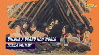 24th World Scout Jamboree Song | Unlock a Brand New World - Jessica Williams