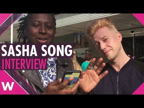 Sasha Song (Lithuania 2009) interview @ Eurovision Live Concert 2017 (Setubal)
