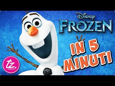 FROZEN |  Raccontato in 5 Minuti - Film Disney