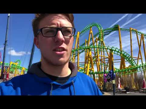 Six Flags New England Opening Day 2018 Vlog!