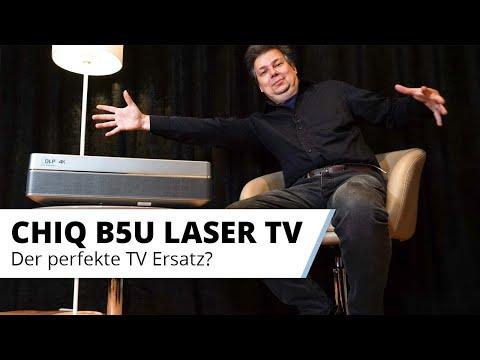 CHIQ B5U Laser TV - Der perfekte TV Ersatz mit großem Bild zum kleinen Preis?