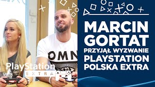 Marcin Gortat accepted the challenge from PlayStation Poland EXTRA
