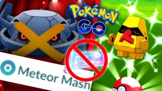Meteor Mash Metagross Incense Day in Pokemon GO // Season of Legends Event begins // New Shinies