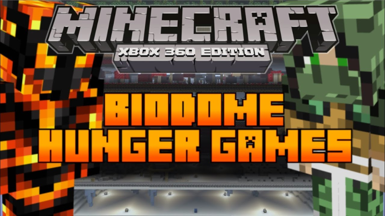 Xbox 360 Hunger Games : Minecraft xbox the hunger games map biodome