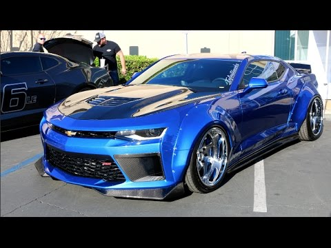 Crazy Widebody Ss Camaro Youtube