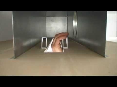 Montaje de una rejilla lineal en techo de pladur youtube - Como colocar un techo de pladur ...