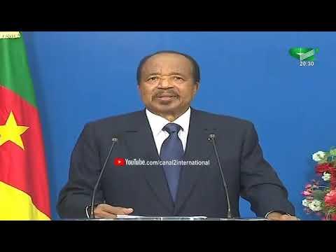 Discours Du Président De La République S.E PAUL BIYA Du 10/02/2020 à La Jeunesse Camerounaise