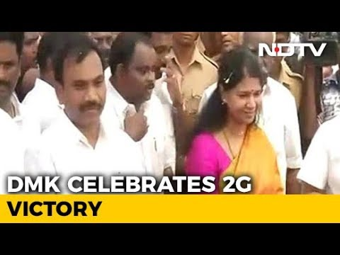 Back In Chennai After 2G Verdict, A Raja And Kanimozhi Meet Karunanidhi Mp3