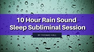 Stop Worrying & Stay Positive - (10 Hour) Rain Sound - Sublimi…