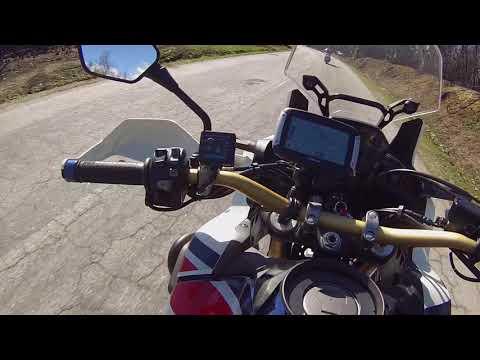 Honda CRF 1000l Africa Twin- Passeio de Domingo Estrada da Beira|Barragem da Aguieira