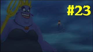 "Kingdom Hearts HD 1.5 Final Mix Gameplay Walkthrough - Part 23: ""Atlantica - Ursula Boss Battle #2"""