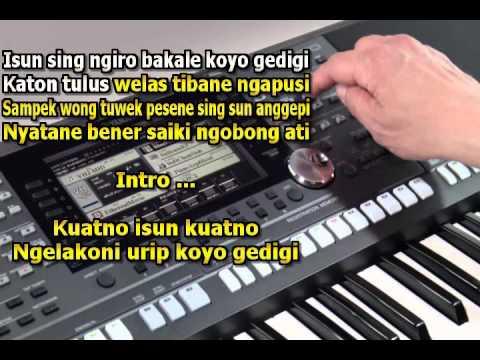 Ngobong Ati Karaoke Keyboard Yamaha