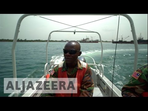Liberian Navy Tackles Piracy