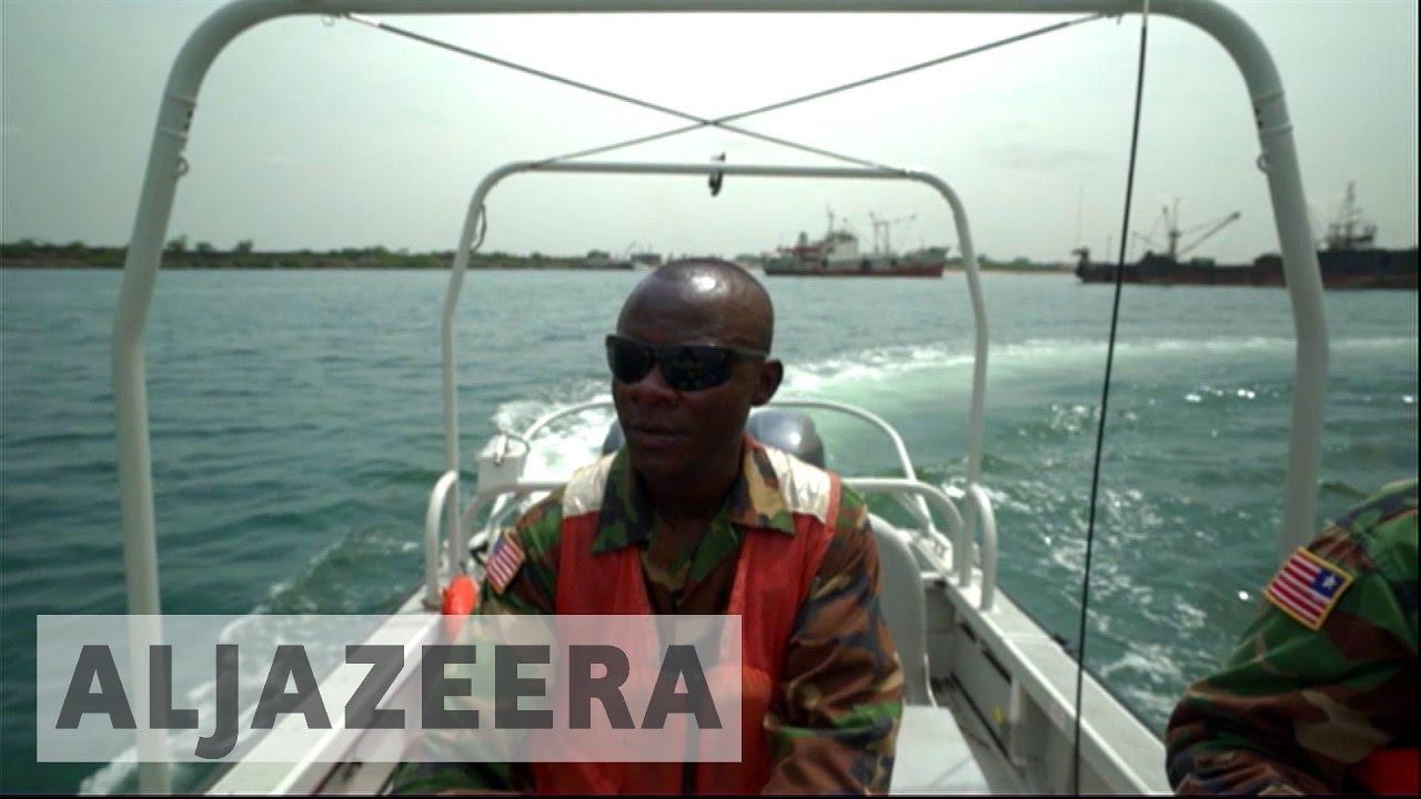 Liberian navy tackles piracy