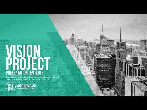 Vision Project Presentation Template (PowerPoint)