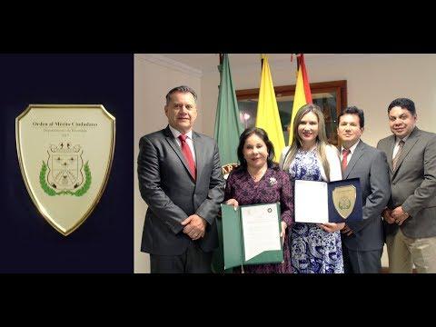 Gobernación de Risaralda condecora a la Doctora María Luisa Piraquive